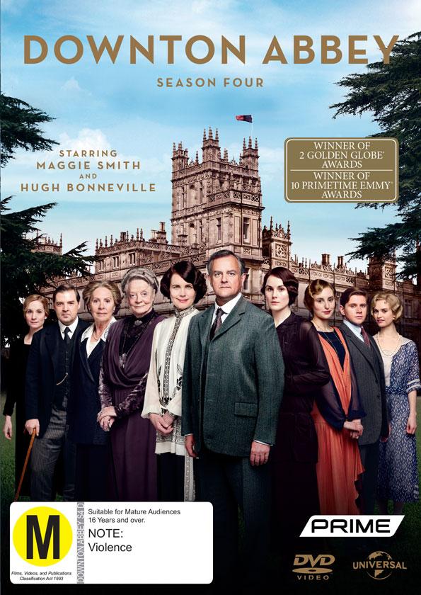 Win Downton Abbey Season 4 on DVD - WinStuff