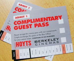 Win Hoyts Movie Tickets Winstuff