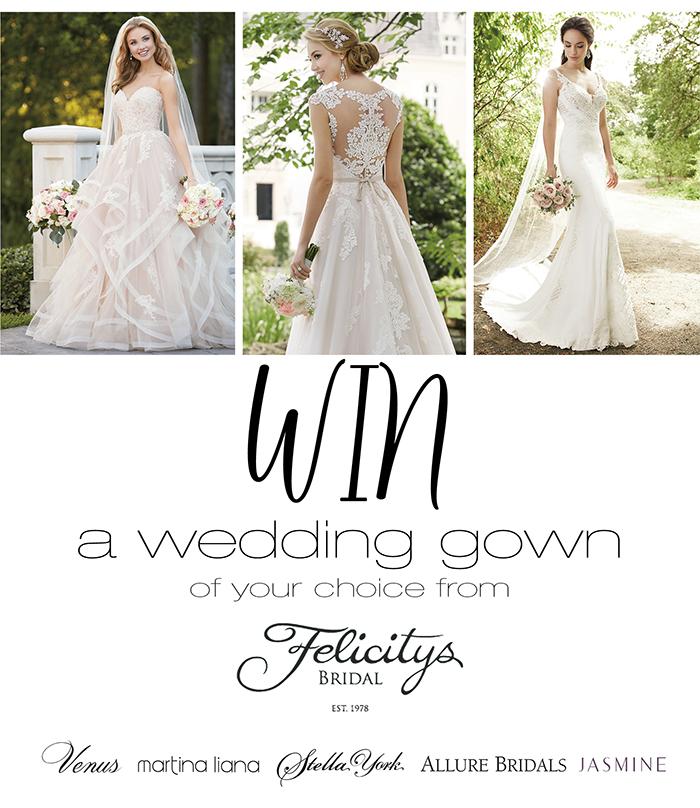 Win your wedding gown winstuff for Win free wedding dress