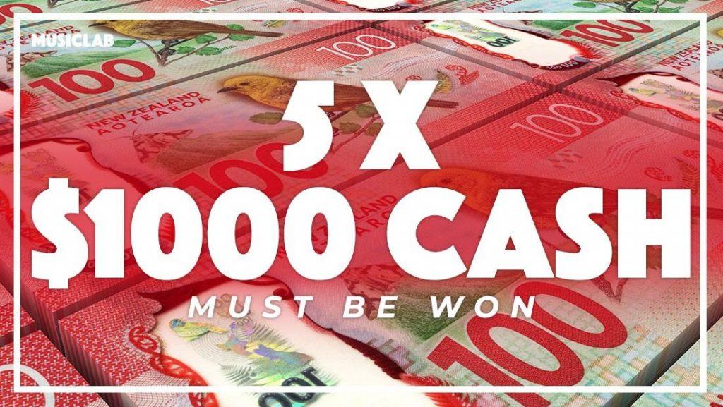 Win one of 5 $1,000 cash prizes - WinStuff