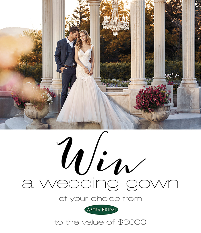 Win a wedding gown of your choice from astra bridal winstuff for Win free wedding dress