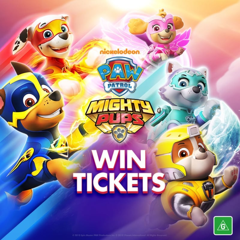 Win 1 Of 3 Paw Patrol Mighty Pups Prize Packs Winstuff